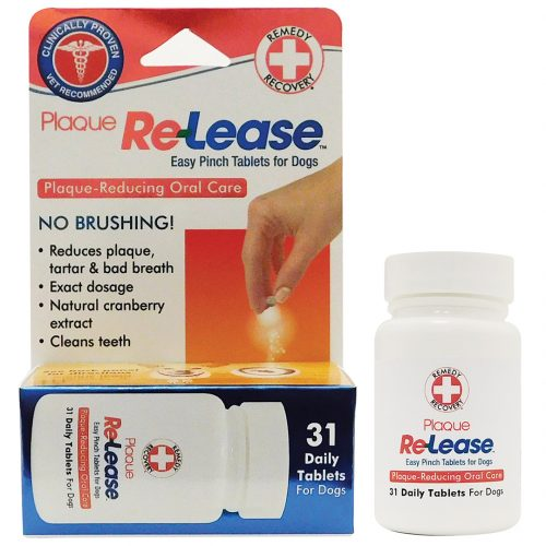 PLAQUE RE-LEASE® EASY PINCH TABLETS